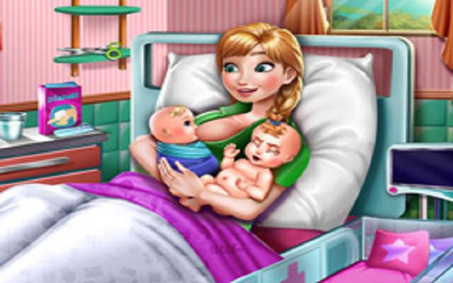 Anna Mommy Twins Birth