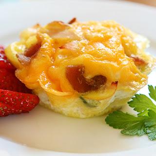 Cheesy Bacon Quiche Bites for Bariatric Breakfast!.