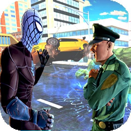 Spider hero survival city battle fight (game)