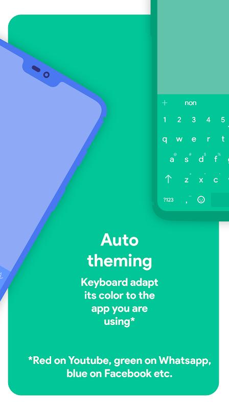 Chrooma Keyboard - RGB & Chameleon Theme screenshots