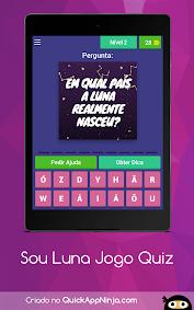 (APK) تحميل لالروبوت / PC Jogo Sou Luna Quiz ~ Adivinhar ألعاب screenshot