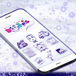 Doodles GO Launcher- screenshot thumbnail
