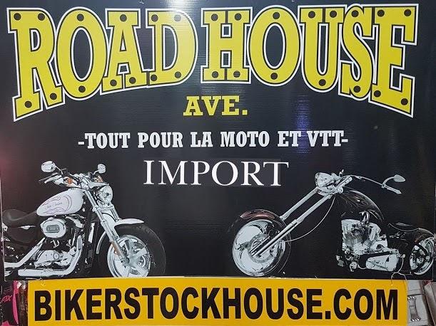 Recherchez l'enseigne authentique Road House St-Eustache Casque