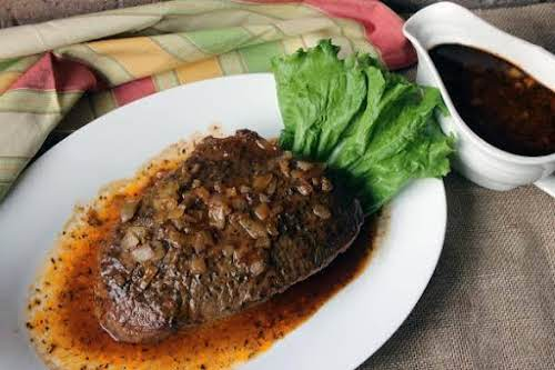 """Roasted Beef""""I needed to make a lot of pot roast, as I..."""