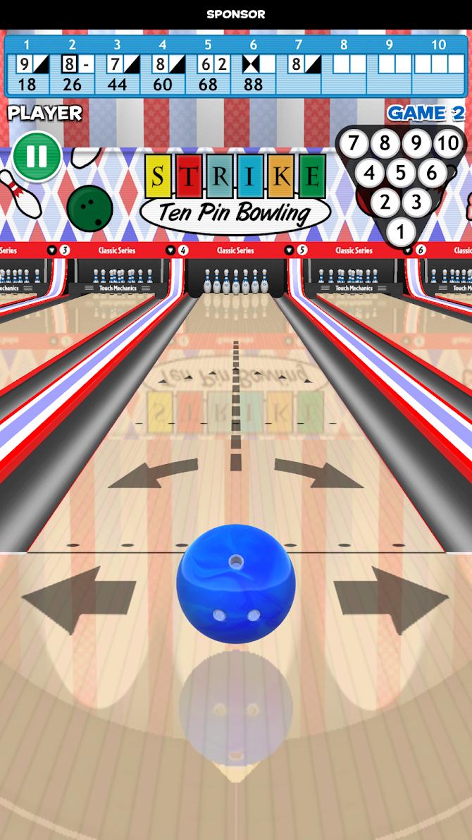 Strike! Ten Pin Bowling Android 3
