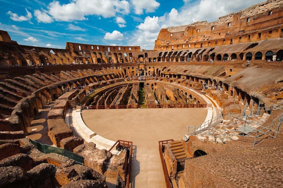 Flavian Amphitheatre Classic by Mauricio Alas - Buildings & Architecture Statues & Monuments