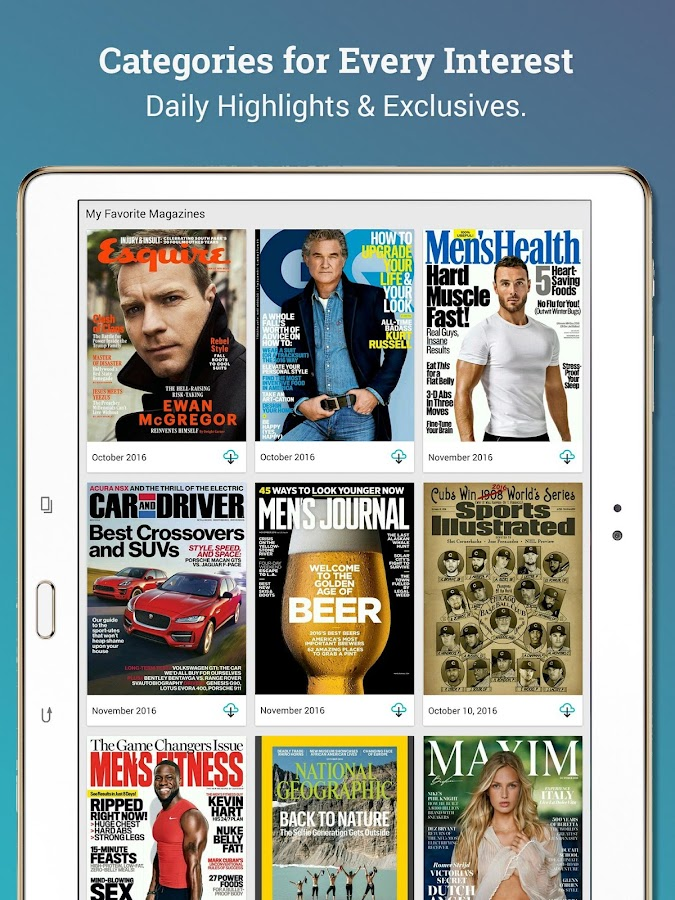 Texture – Digital Magazines- screenshot