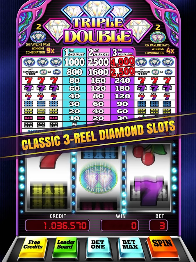 Double Diamond Slots - Play this Game for Free Online