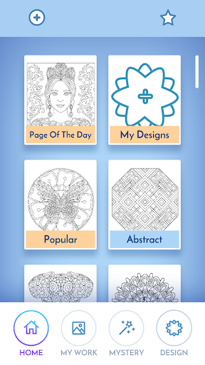 Coloring Book for Adults filehippodl screenshot 4