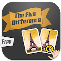 The Five Differences icon