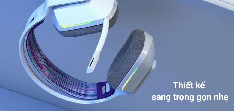 Tai nghe không dây gaming Logitech G733 K/DA | Thiết kế sang trọng