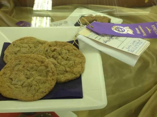 These Cookies Won A Purple Ribbon At The Yuma County Fair