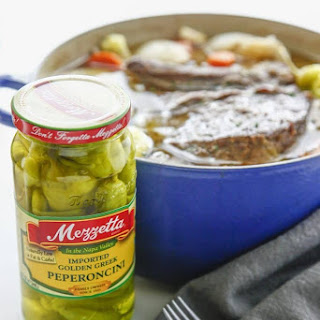 Spicy Dutch Oven Pepperoncini Pot Roast Recipe