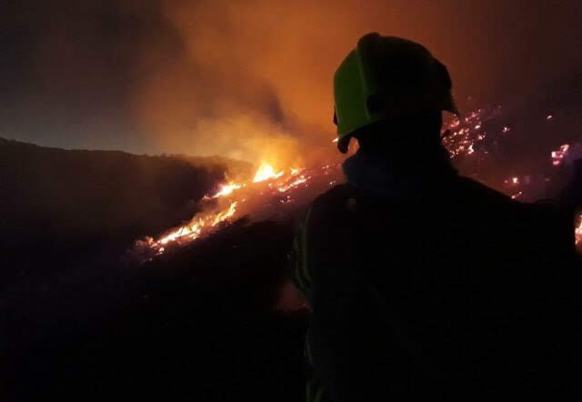 Firefighters tackle Easter blazes