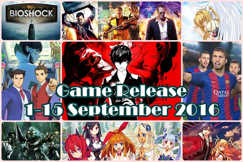 [Game Release] เกมออกน่าสนใจ 1-15 September 2016