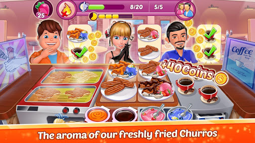 Restaurant Empire : Kitchen Chef Food Cooking Game  captures d'écran 1