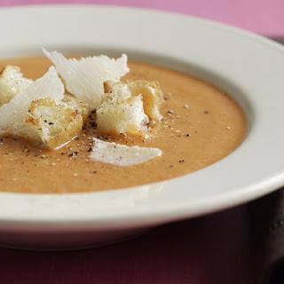 Roast Vegetable and Lentil Soup.