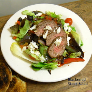 BLACKENED STEAK SALAD