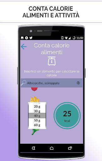 La tua dieta personalizzata screenshot 5