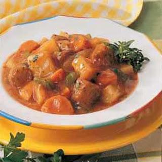 Homemade Italian Sausage Stew