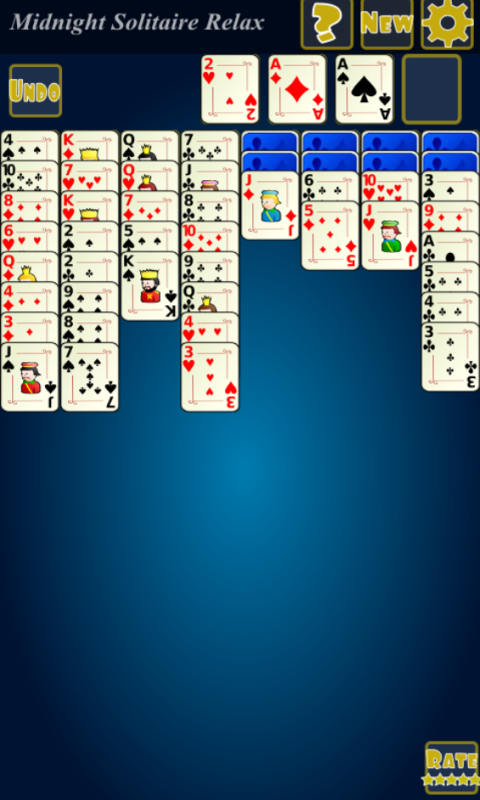 Midnight Solitaire Relax- screenshot