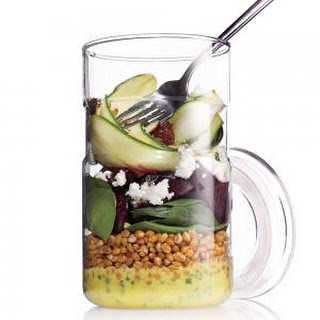 Zucchini-Wheat Berry Salad