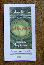 Photo: Lunch on the Lawn 2011- sold almost 100 tickets!