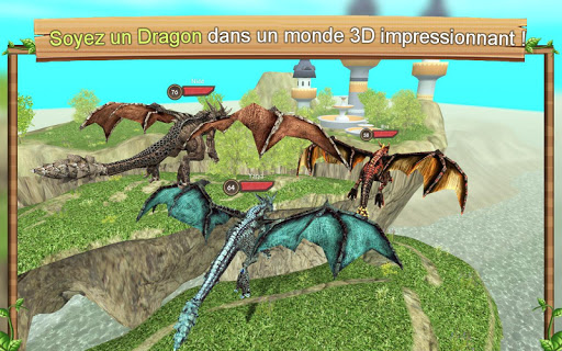 Simulateur de dragon en ligne captures d'écran apk mod pirater preuve 1
