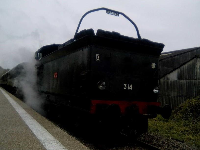 Train d'Halloween 29 octobre 2017