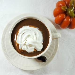 Low Sugar Hot Chocolate with Creamy Pumpkin.