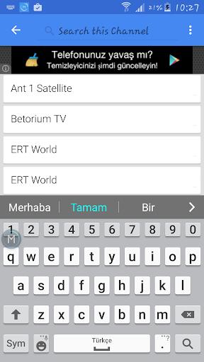 TV Greece Sat Data