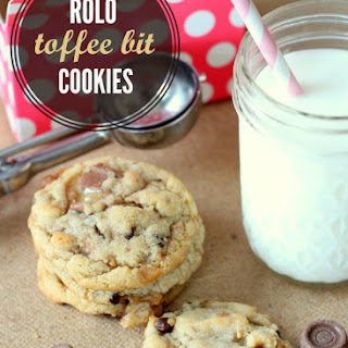 Rolo Toffee Chocolate Chip Cookies