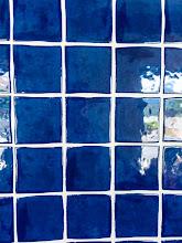 Photo: Blue Tile
