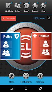 HandHelp - EMERGENCY SOS APP screenshot 0