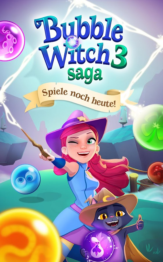 Bubble Witch 3 Saga – Screenshot