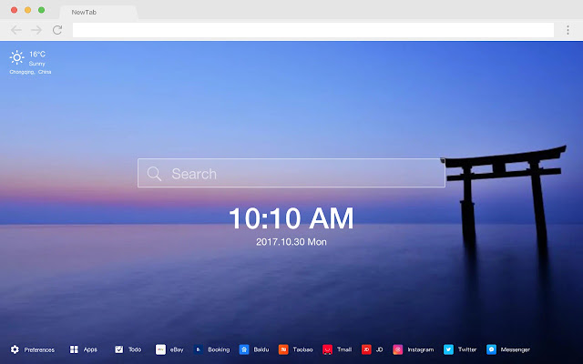 Japan New Tab Page HD Popular Scenery Theme