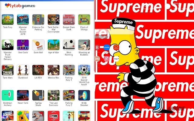 Bart Simpson Supreme Wallpaper Hd New Tab