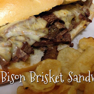 Hot Bison Brisket Sandwich