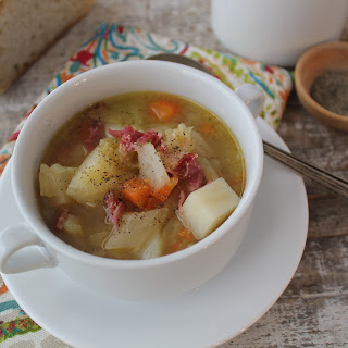 Ham Hock And Cabbage Soup