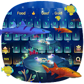 3D Ocean Aquarium Keyboard