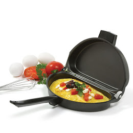 Tigaie pentru omleta, pliabila, non-aderenta