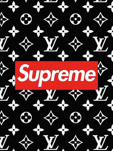 ... Supreme x LV Wallpaper Art HD ...