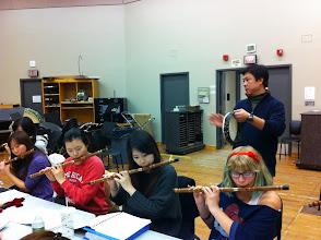 Photo: Chinese Music Ensemble, Fall 2011