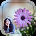 Purple Flower Photo Frames icon