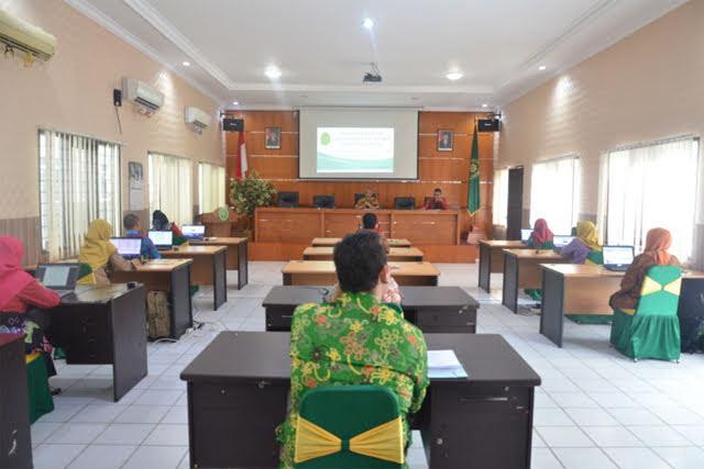 Pegawai Pengadilan Agama Balikpapan ikuti seleksi Calon Panitera Pengganti  | (21/5)