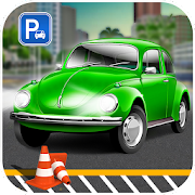 Vintage Car Driver 2018 : Car Parking Zone