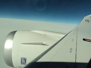 Photo: On 787 Dreamliner to Okayama