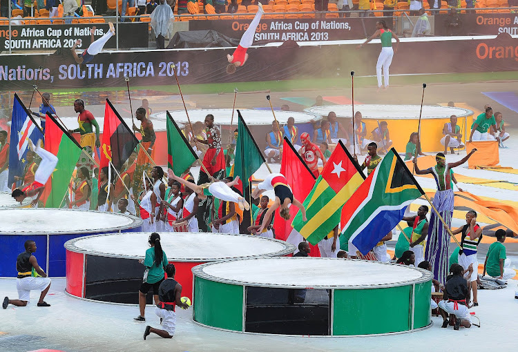 Performers during the opening ceremony of the 2013 African Cup of Nations in Soweto. South Africa hope to host the tournament again in 2019.