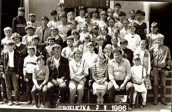 Photo: Wieliczka 07.05.1986 r.