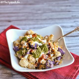 Corn & Cauliflower Chaat